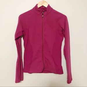 Lululemon Zip up jacket pink size 8